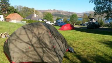 Day 1 Wee Campsite and MSR