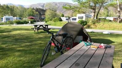 Kinlochewe campsite!