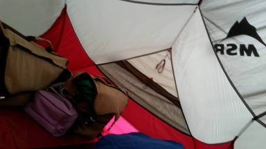 Day 3 tent