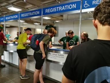 Day 1 Registering