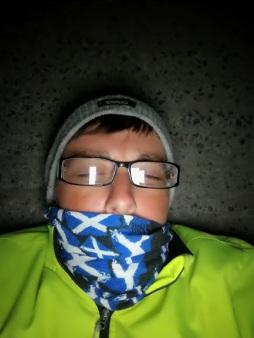 Race Day 7 - Achill sleeping